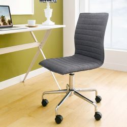 Karla-Grey  Desk Chair