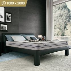 EL-FLEX-1000   Single Pocket Spring w/ Memory Foam Mattress  (상단)