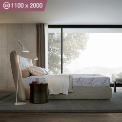 Carrera-1100  Super Single Memory Foam Mattress (상단)