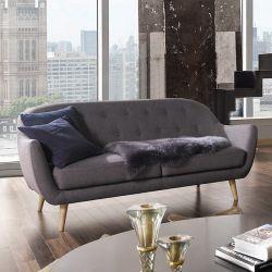 Denver-Grey  2.5-Seater Sofa
