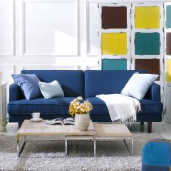 Bliss-Blue  3-Seater Sofa
