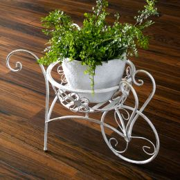 PL08-5829  Wheelbarrow Planter Holder
