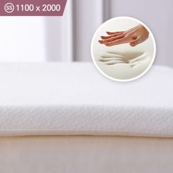 Memory Foam-1100 Super Single  Mattress Topper 1100