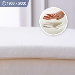 Memory Foam-1900 King  Mattress Topper 1900