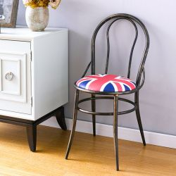 UK Round-Back  Metal Chair