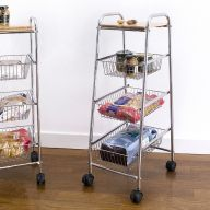 CK0928  3-Shelf Storage Cart