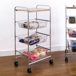 CK8583  3-Shelf Storage Cart