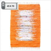 SSA-403-Orange-45x70   100% Handmade Carpet
