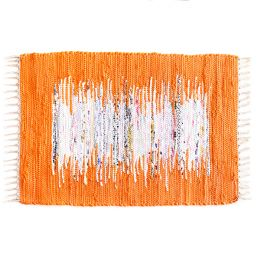 SSA-403-Orange-45x120  100% Handmade Carpet