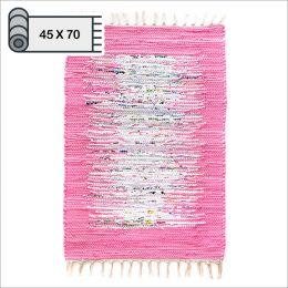 SSA-403-Pink-45x70    100% Handmade Carpet