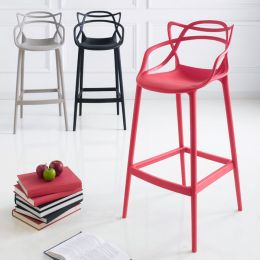 PP-601C-Red  Bar Chair