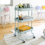 ST25346-C-Mint Green  Storage Cart