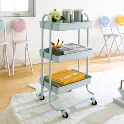 ST25346-C-Mint Green  Storage Cart
