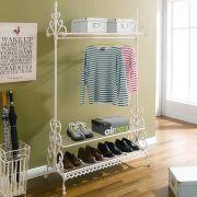 PL08-8500  1-Hanger & Shoes Rack