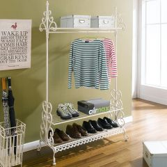 PL08-8500  1-Hanger & Shoes Rack