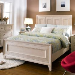 B4220-54HFR  Queen Panel Bed