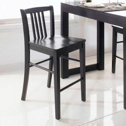 D390-Black-BC  Bar Chair