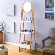 FW0861  Storage Rack w/ Mirror
