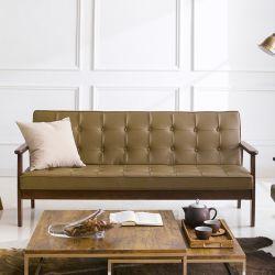 DT-1905-Cappucino-PU  3-Seater Sofa