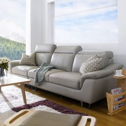 M8015  4-Seater Leather Sofa