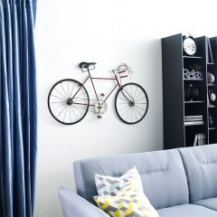 WI42547-Antique Red  Bicycle Wall Art