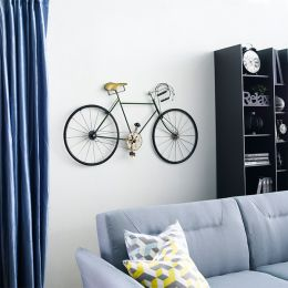 WI42548-Antique Silver  Bicycle Wall Art