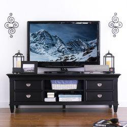 E3097-06BLK  TV Stand