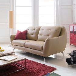 M8011  3-Seater Leather Sofa