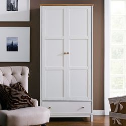 Atlanta-Two Tones Double Wardrobe