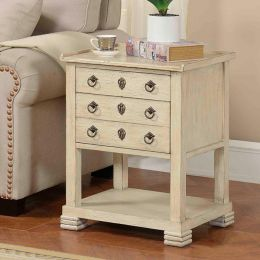 78722  2-Drawer Side Table