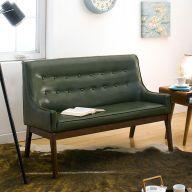 Nima-Green  2-Seater Sofa