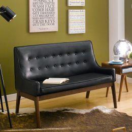 Nima-Black  2-Seater Sofa