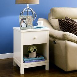 Atlanta-White  Nightstand