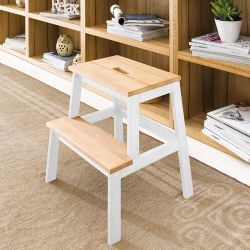 Step Ladder-White