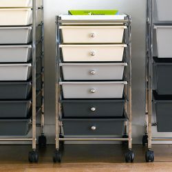 G306B-C  6-Drawer Cart