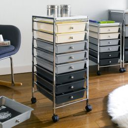 G308B-C  8-Drawer Cart