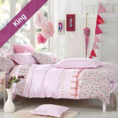 RYT607  King Comforter ~100% Cotton~ (솜이불+베개커버 2개)(Size: 213 cm x 230 cm)