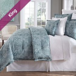 Athena  King Comforter ~100% Cotton~ (솜이불+베개커버 2개)(Size: 213 cm x 230 cm)