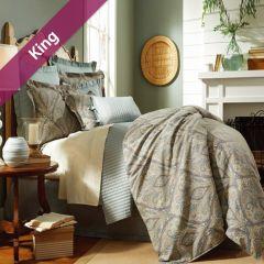 Beaumont  King Comforter ~100% Cotton~ (솜이불+베개커버 2개)(Size: 213 cm x 230 cm)