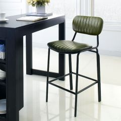 Veronica-Green-CTR  Bar Chair