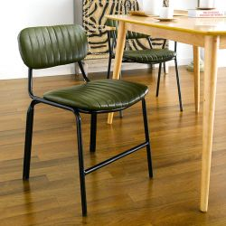 Veronica-Green Metal Chair