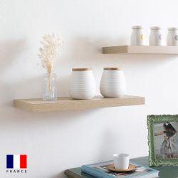 Etagere-DS4-Oak  Wall Shelf