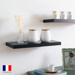 Etagere-DS4-Black Wall Shelf
