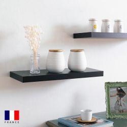 Etagere-DS4-Black Wall Shelf