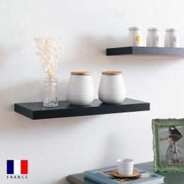 Etagere-DS4-Black-600 Wall Shelf