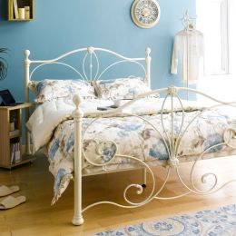 H9199-Q  Queen Metal Bed