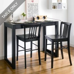DT990-4-Black-BT  Bar Table   (Table Only)