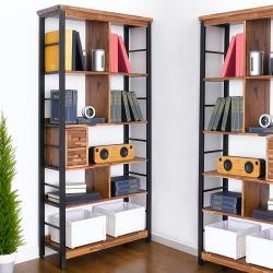 Choco-BC  Metal & Wooden Bookcase