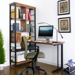 Choco-H  Desk & Bookcase