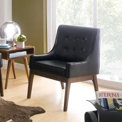 Nima-Black  Single Chair